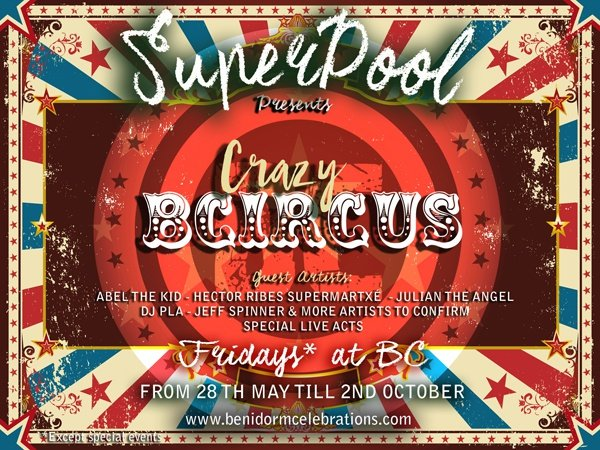 B-circus apartamentos benidorm celebrations ™ music resort (adults only)