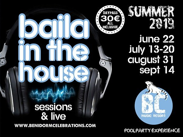 Baila in the house apartamentos benidorm celebrations™ music resort (adults only)