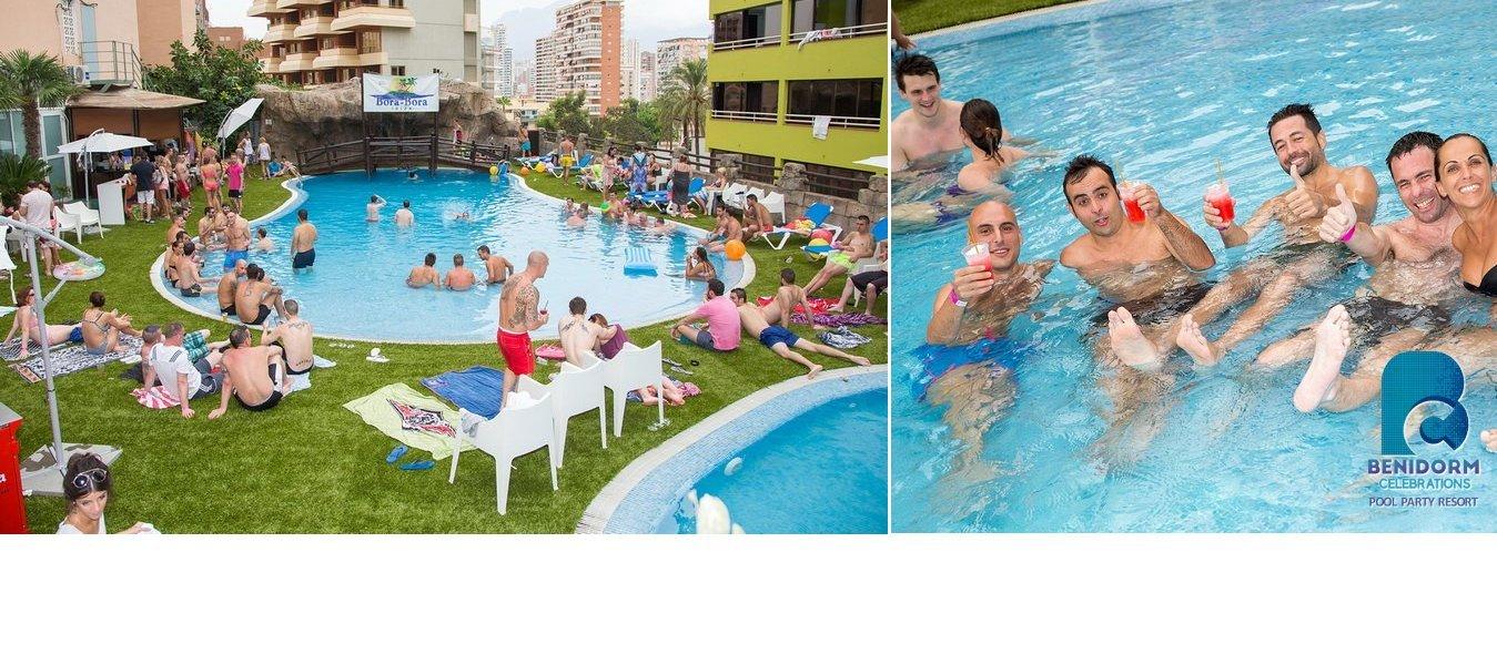 Viva la auténtica fiesta Bora-Bora Ibiza oficial en Benidorm!  -   Benidorm Celebrations™ Pool Party Resort (Adults Only)